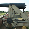 Ft Morgan Nc Cannon by Tommy Anderson