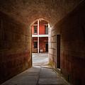 Ft. Point Hallway by Bill Gallagher