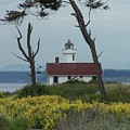 Ft. Warden Lighthouse by Gene Ritchhart
