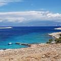 Ftenagia Beach On Halki by David Fowler