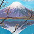 Fuji San by Yael Eylat-Tanaka