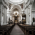 Fulda Cathedral Inside by Alex Hiemstra