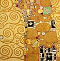 Fulfilment Stoclet Frieze by Gustav Klimt
