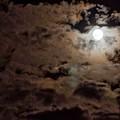 Full Moon Cloudy Night by Steven Natanson
