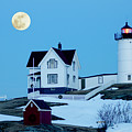Full Moon Nubble by Greg Fortier