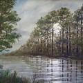Full Moon On The River by Kathleen McDermott