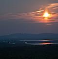 Full Moon Over Acadia I by Greg DeBeck
