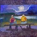 Full Moon Rising by Helen Musser
