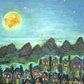 Full Moon Village by Martha Dolan