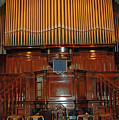 Fuller Baptist Church Pulpit And Organ by Bruce Gourley