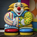 Fun House Clown Point Pleasant Nj Boardwalk by Terry DeLuco