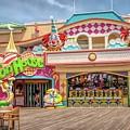 Fun House On The Point Pleasant Boardwalk by Kristia Adams