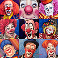 Fun Real Clowns by Patty Vicknair