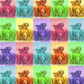 Fun Spring Bunnies by Linda L Martin