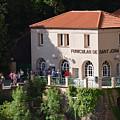 Funicular De Sant Joan Monserratt by Brian Fornear