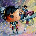 Funko Chun Li by Miki De Goodaboom