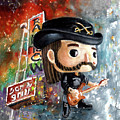 Funko Lemmy Kilminster Out To Lunch by Miki De Goodaboom