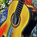 Funky Guitar by The Art of Alice Terrill