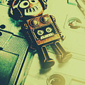 Funky Mixtape Robot by Jorgo Photography - Wall Art Gallery
