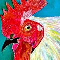 Funky Rooster by Anne Sands