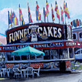 Funnel Cakes by David Zimmerman