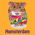 Funny Design Illustration Puns Hamsterdam The Wire by Paul Telling