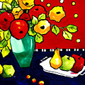 Funny Flowers And Fruit by Carrie Allbritton