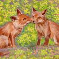 Funny Foxes .2007 by Natalia Piacheva