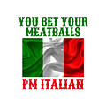 Funny Italian Flag by Family Gift Designs