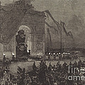 Fun?railles De Victor Hugo.  La Veill?e by Auguste Lep?re After Henri Louis Scott