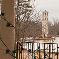 Furman Bell Tower 1 by David Waldrop