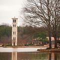 Furman Bell Tower 3 by David Waldrop