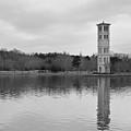 Furman Bell Tower 4 Bw by David Waldrop