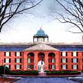Furman University Judson Hall  by Carol Montoya