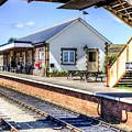 Furnace Sidings Railway Station by Steve Purnell