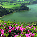 Furnas Lake Azores by Gaspar Avila