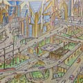 Future City After 50 Years by Shadik Sobhan