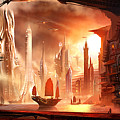 Future Harbor by Alex Ruiz