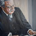 G K Chesterton by Bryan Bustard
