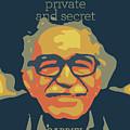 Gabriel Garcia Marquez by Greatom London