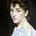 Gabrielle After W. Bouguereau by Hidemi