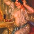 Gabrielle At The Mirror 1910 by Renoir PierreAuguste