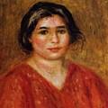 Gabrielle In A Red Blouse 1913 by Renoir PierreAuguste