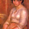 Gabrielle Seated by Renoir PierreAuguste