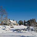 Gairloch House In Winter by Mark Emmerson