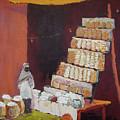 Gajak Sweet Shop by Art Nomad Sandra  Hansen