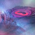 Galactic Eye by Jenny Rainbow