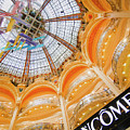 Galeries Lafayette Inside Art by Alex Art and Photo