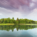 Gale's Pond Early In The Morning by Kevin Kludy