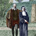 Galileo And His Daughter Maria Celeste by Sheila Terry